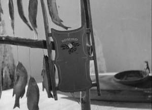 Le fameux traineau du nom de Rosebud dans le film Citizen Kane