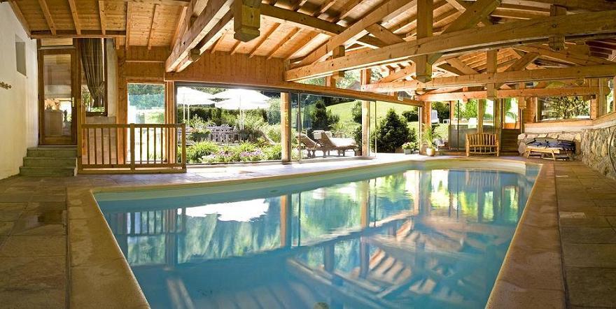 pool hotel chamonix
