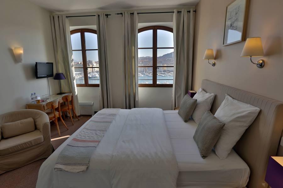 décoration chambre hotel Belle Vue Marseille