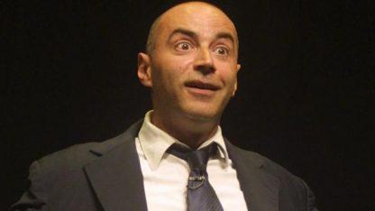 le comédien et humoriste patrick bosso